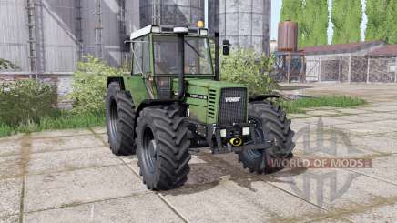 Fendt Favorit 612 LSA Turbomatik E dual rear para Farming Simulator 2017