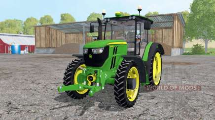 John Deere 6090RC narrow wheels para Farming Simulator 2015