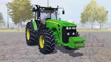 John Deere 8430 front weight para Farming Simulator 2013