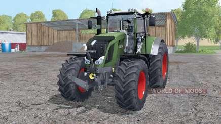 Fendt 822 Vario twin wheels para Farming Simulator 2015