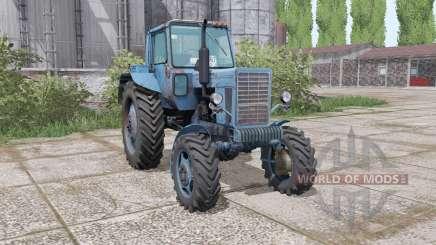 MTZ 82 Bielorrússia azul Marinho para Farming Simulator 2017