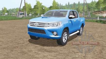 Toyota Hilux 4x4 Double Cab 2015 para Farming Simulator 2017