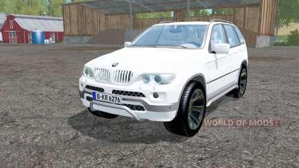 BMW X5 (E53) 2004 para Farming Simulator 2015