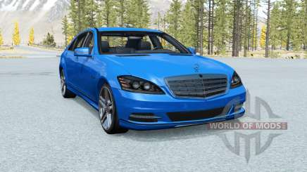 Mercedes-Benz S 600 (W221) 2009 para BeamNG Drive