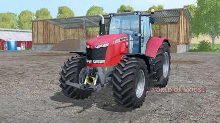 Massey Ferguson 7626 twin wheels para Farming Simulator 2015