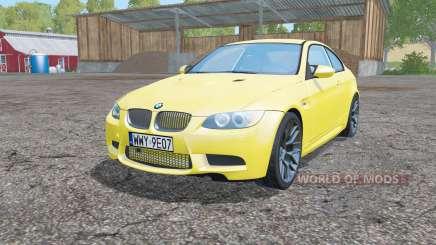 BMW M3 coupe (E92) para Farming Simulator 2015