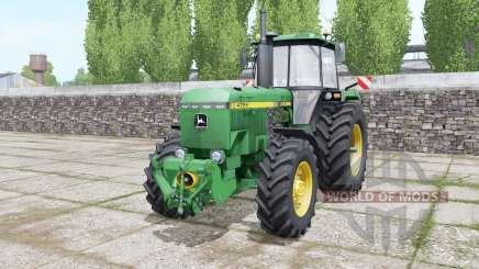 John Deere 4755 double wheels para Farming Simulator 2017