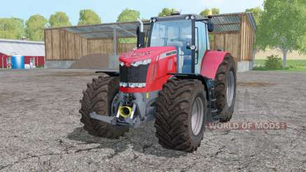 Massey Ferguson 7626 interactive control para Farming Simulator 2015