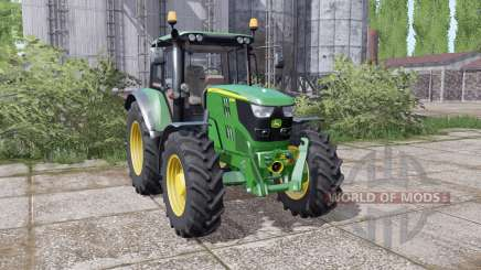 John Deere 6115M interactive control para Farming Simulator 2017