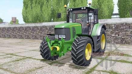 John Deere 6330 Michelin tires para Farming Simulator 2017