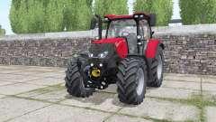 Case IH Maxxum 115 CVX wheels selection para Farming Simulator 2017