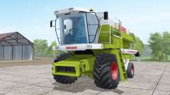 Claas Dominator 208 Mega wheels selection para Farming Simulator 2017
