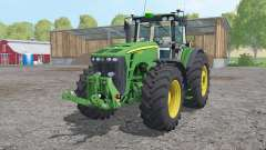 John Deere 8530 extra weights para Farming Simulator 2015