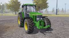 John Deere 7810 animation parts para Farming Simulator 2013