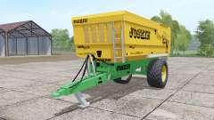 Joskin Trans-Cap 5000-14 yellow para Farming Simulator 2017