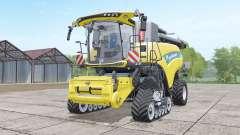 New Holland CR10.90 storage hopper increased para Farming Simulator 2017