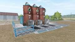 Alimentação do moinho da estação para Farming Simulator 2017
