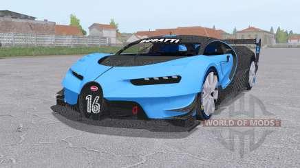 Bugatti Chiron Vision Gran Turismo 2015 para Farming Simulator 2017