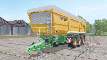 Joskin Trans-Space 8000-27 TRC150 para Farming Simulator 2017