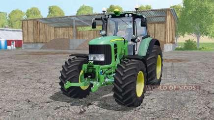 John Deere 7530 Premium front loader para Farming Simulator 2015