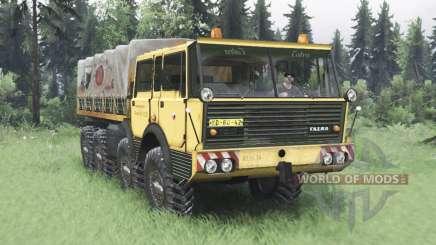 Tatra T813 TP 8x8 1967 v1.5 para Spin Tires