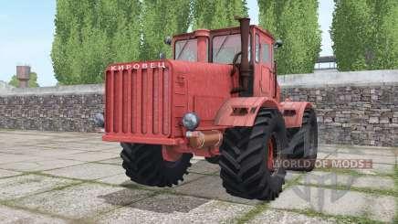 Kirovets K-700 vermelho para Farming Simulator 2017