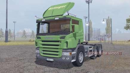 Scania P420 6x6 v2.0 para Farming Simulator 2013