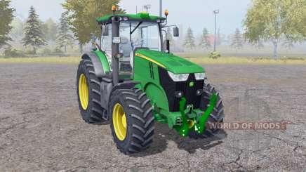 John Deere 7200R interactive control para Farming Simulator 2013