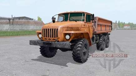 Ural 5557 trailer para Farming Simulator 2017