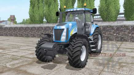 New Holland TG255 front weight para Farming Simulator 2017