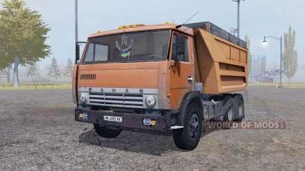 KamAZ 55111 1989 trailer para Farming Simulator 2013
