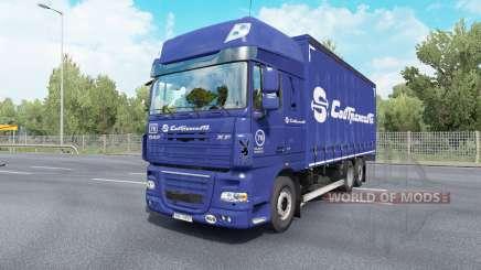 DAF XF105 Super Space Cab Tandem v6.5 para Euro Truck Simulator 2