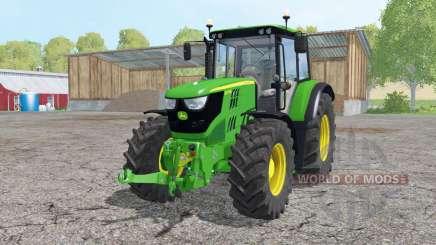 John Deere 6115M loader mounting para Farming Simulator 2015