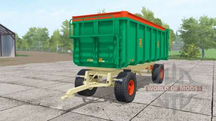 Aguas-Tenias GAT20 lime green para Farming Simulator 2017