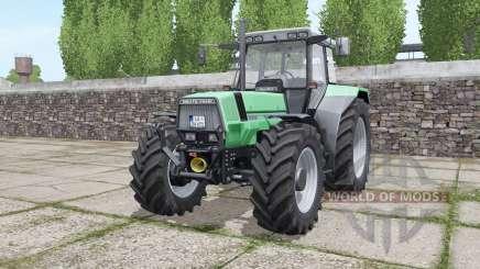 Deutz-Fahr AgroStar 6.71 narrow twin wheels para Farming Simulator 2017