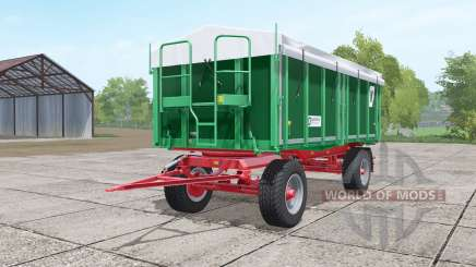 Kroger HKD 302 dark lime green para Farming Simulator 2017