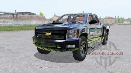 Chevrolet Silverado 2500 HD Extended Cab para Farming Simulator 2017