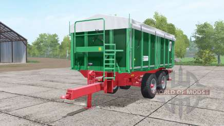 Kroger TKD 302 dark lime green para Farming Simulator 2017
