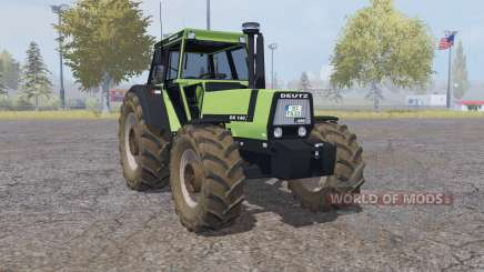 Deutz-Fahr DX 140 double wheels para Farming Simulator 2013
