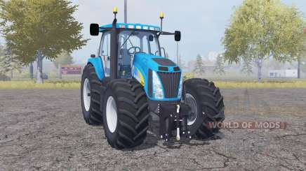 New Holland T8020 double wheels para Farming Simulator 2013