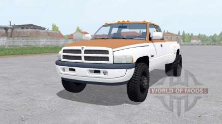 Dodge Ram 3500 Club Cab 1994 para Farming Simulator 2017