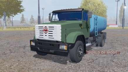 ZIL 4331 vodovoz v2.0 para Farming Simulator 2013