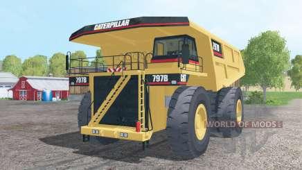 Caterpillar 797B 2002 para Farming Simulator 2015