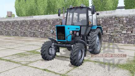 MTZ Bielorrússia 82.1 azul brilhante para Farming Simulator 2017