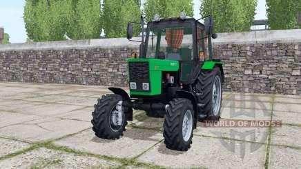 MTZ-82.1 Bielorrússia com a animação de luz verde partes para Farming Simulator 2017