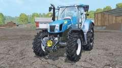 New Holland T6.175 wheels weights para Farming Simulator 2015