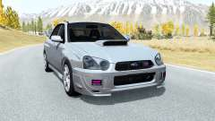 Subaru Impreza WRX STi (GDB) 2003 para BeamNG Drive