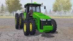 John Deere 8360R double wheels para Farming Simulator 2013