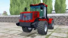 Kirovets K-744Р4 rodas duplas para Farming Simulator 2017