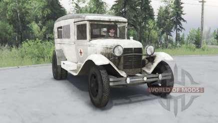GÁS 55 1938 Sanitária v1.5 para Spin Tires